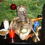 2010 Yule Altar after ritual