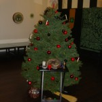 2010 Yule Tree and altar before ritual