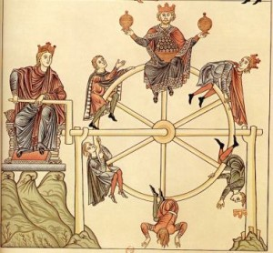 Wheel of Fortune by Hortus Deliciarum