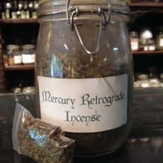 Mercury Retrograde incense product shot