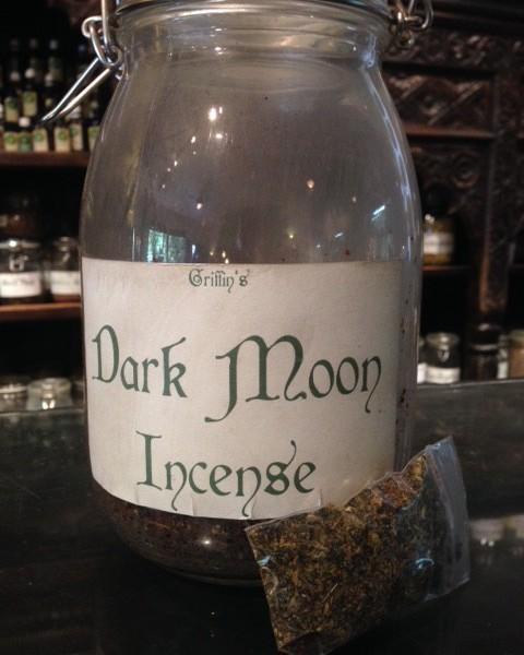 dark moon incense product shot