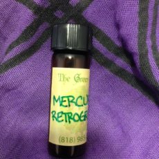Mercury Retrograde Oil