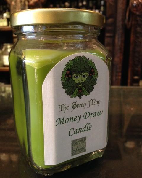 Money Draw Jar Candle product shot