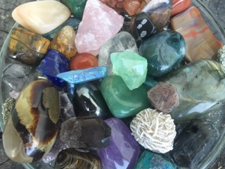 crystals for the crystals workshop