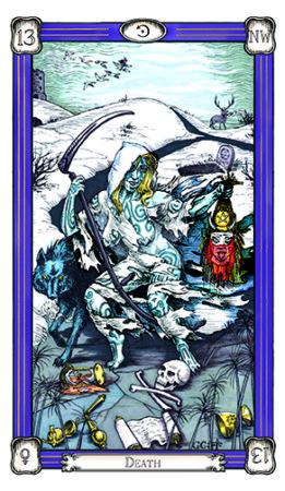 facing death with the death Tarot card