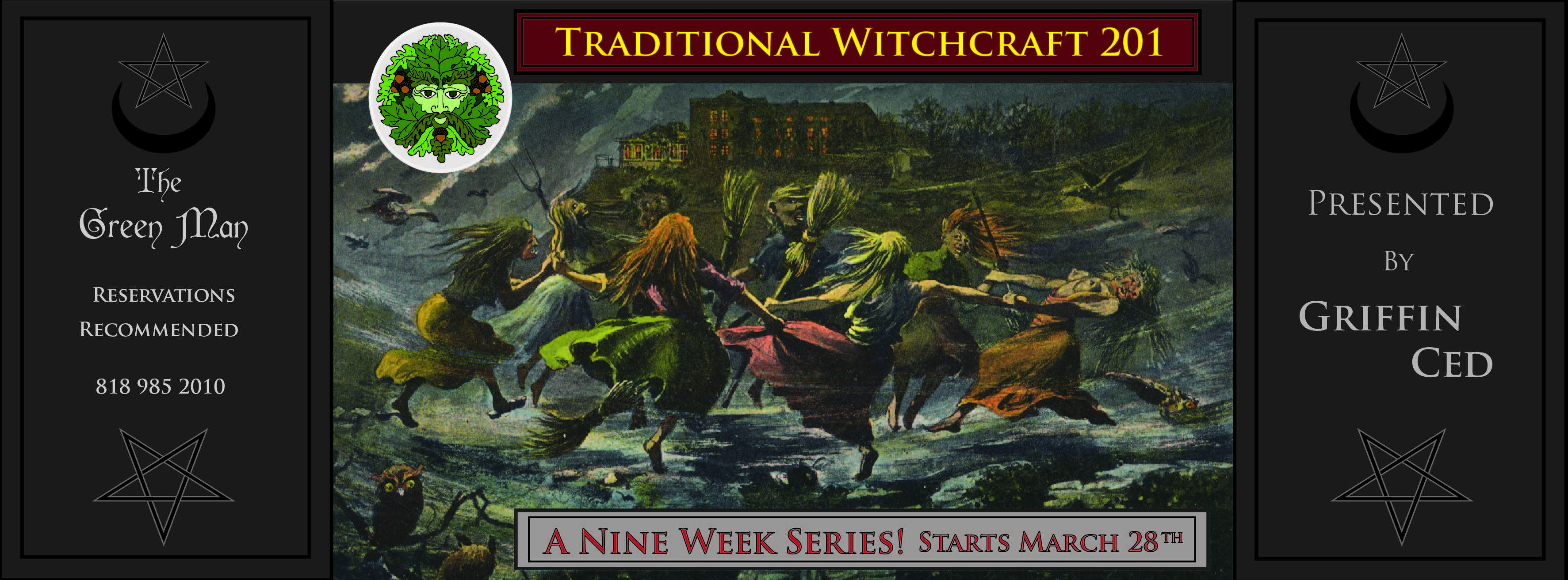 traditional witchcraft series 201 flyer