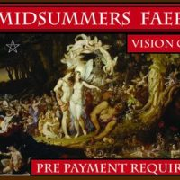 Midsummer's Faery Vision Quest with Griffin Ced