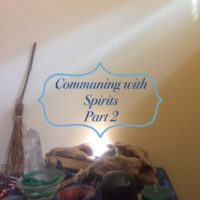 communing with spirits part 2 flyer