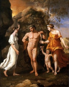 he Choice of Hercules by Nicolas Poussin (1594-1665)