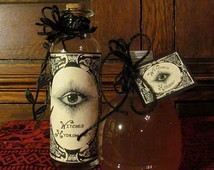 scrying and divination series flyer