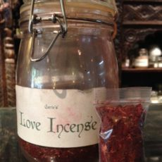 love incense product shot