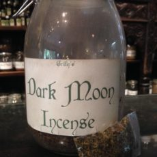 dark moon incense product shot