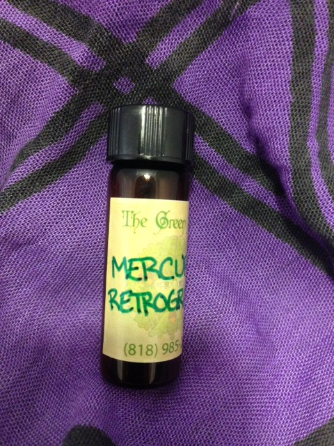 Mercury Retrograde Oil