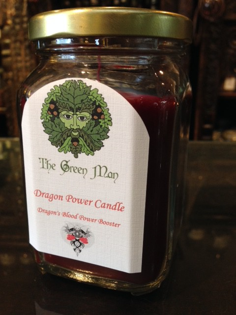 Dragon Blood Power Jar Candle product shot