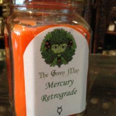 Mercury Retrograde Jar Candle product shot