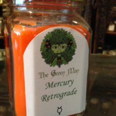 Mercury Retrograde Jar Candle product shot