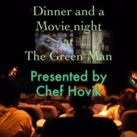 POSTPONED due to illness  Movie Night with Chef Hovik  Friday September 22