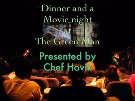 movie night Los Angeles flyer