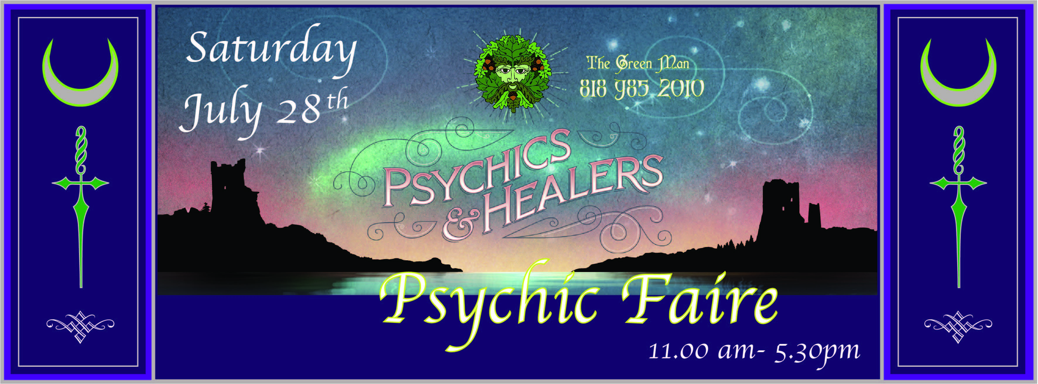 Psychic Metaphysical Healers Faire Los Angeles The Green Man