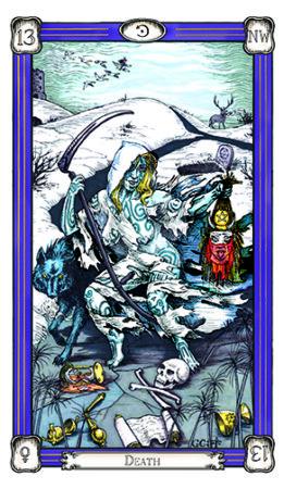 facing death with the death Tarot card