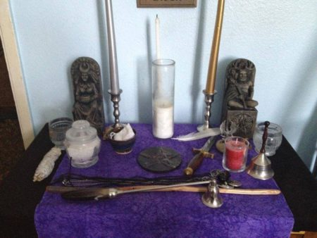 instruments of wicca for the Wicca 101 Series course with Hovik
