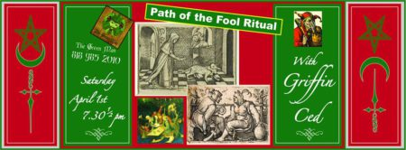 Path of the Fool Ritual Flyer