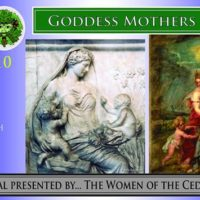 Goddess Mothers Full Moon Ritual with Griffin & the Ced Tradition