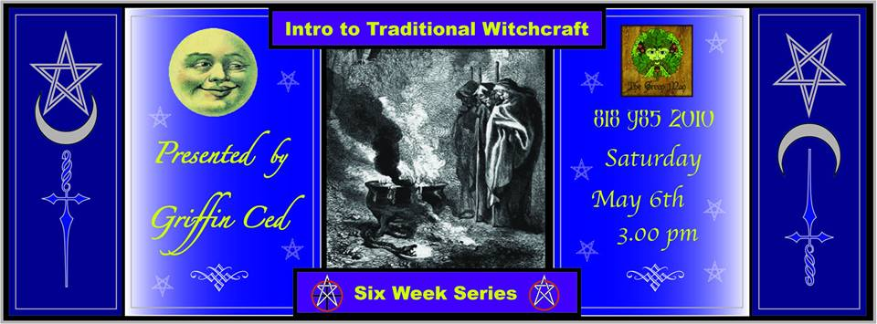 intro to traditional witchcraft flyer