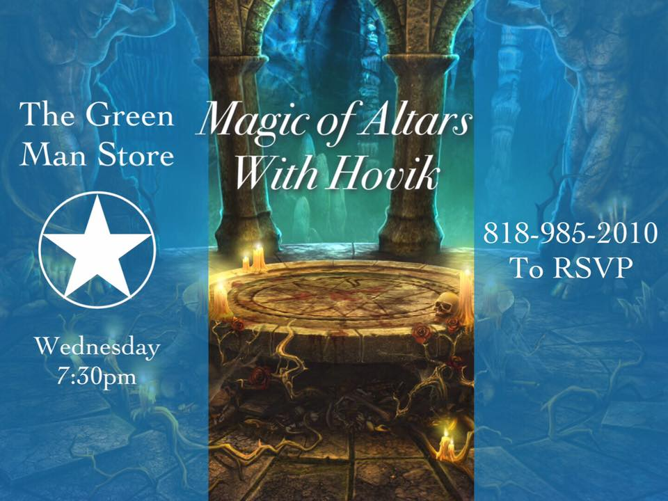 magic of altars flyer