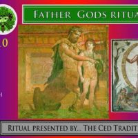 Father Gods Moon Ritual flyer