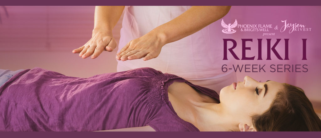 six-week reiki class flyer