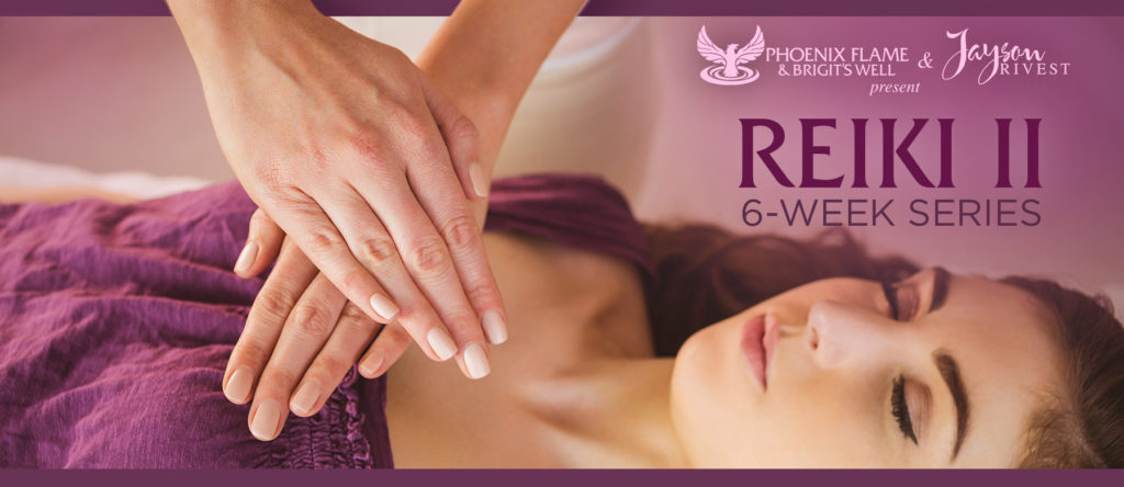 flyer for the advanced reiki class Los Angeles