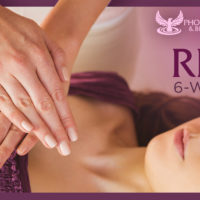 advanced reiki course Los Angeles flyer
