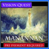 Manannan Vision Quest with Griffin Ced