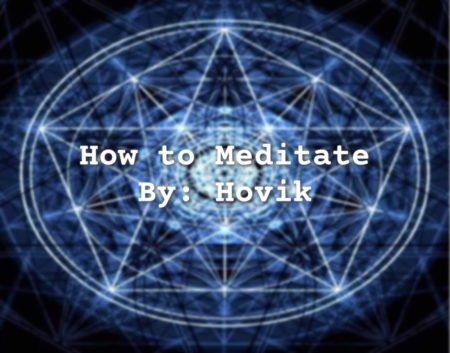 how to meditate flyer