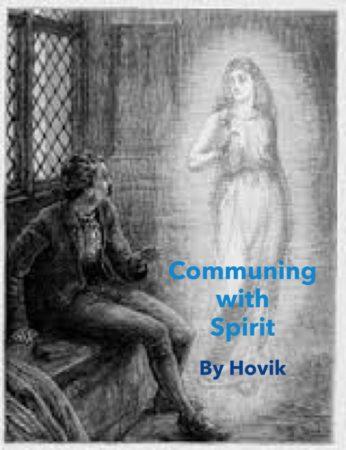 communing with spirits blog flyer