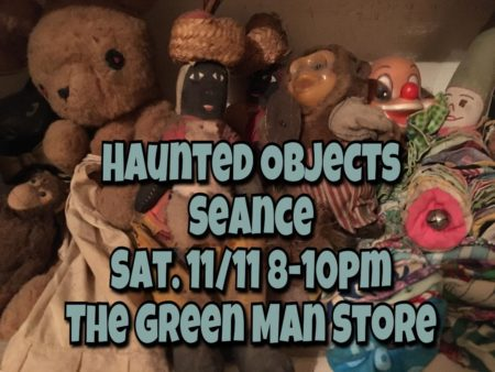 haunted objects seance Los Angeles flier
