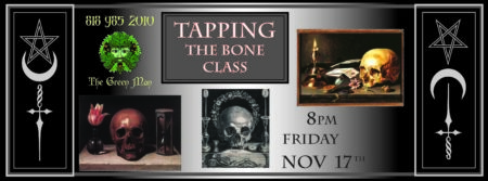 tapping the bone class flyer