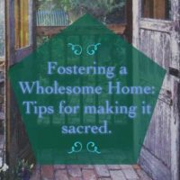 making your home sacred flyer