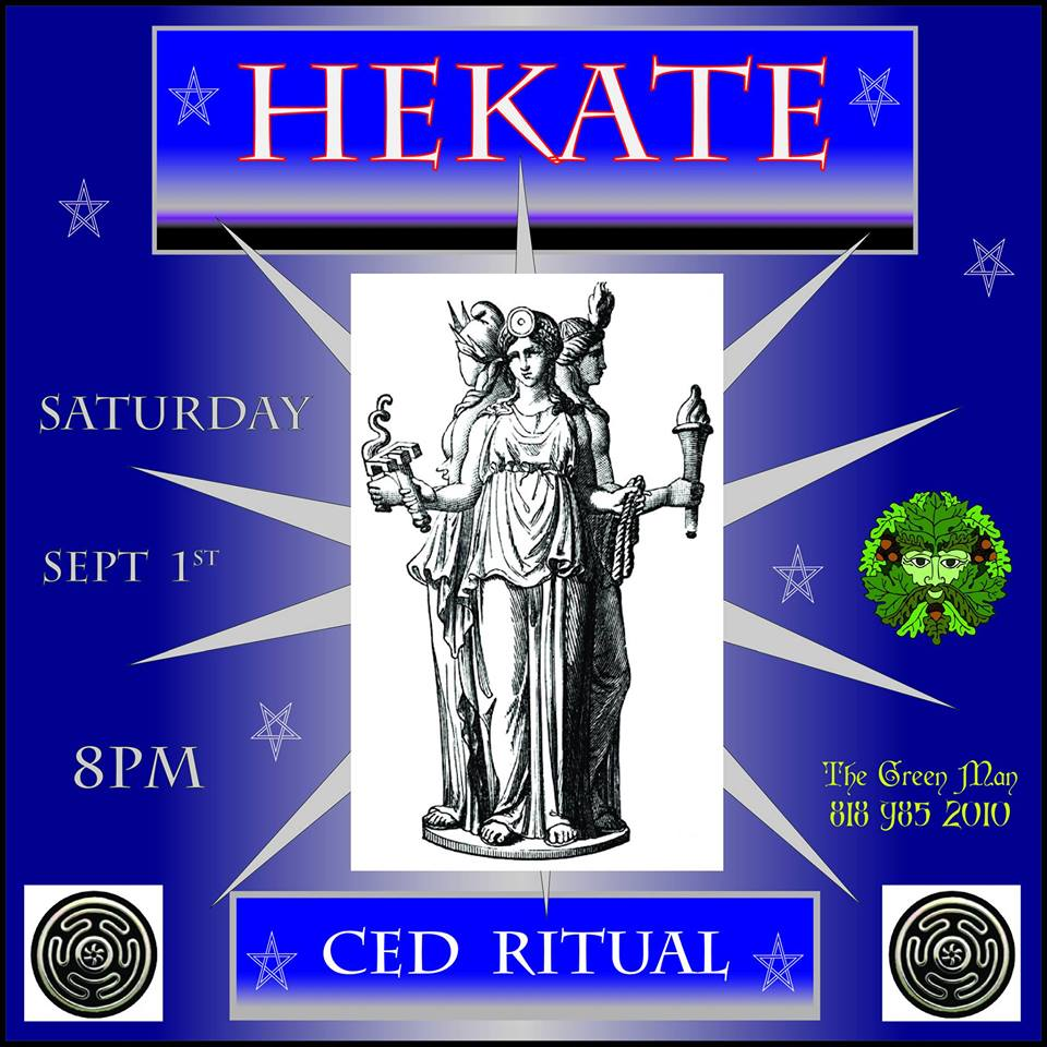 hecate ritual flyer