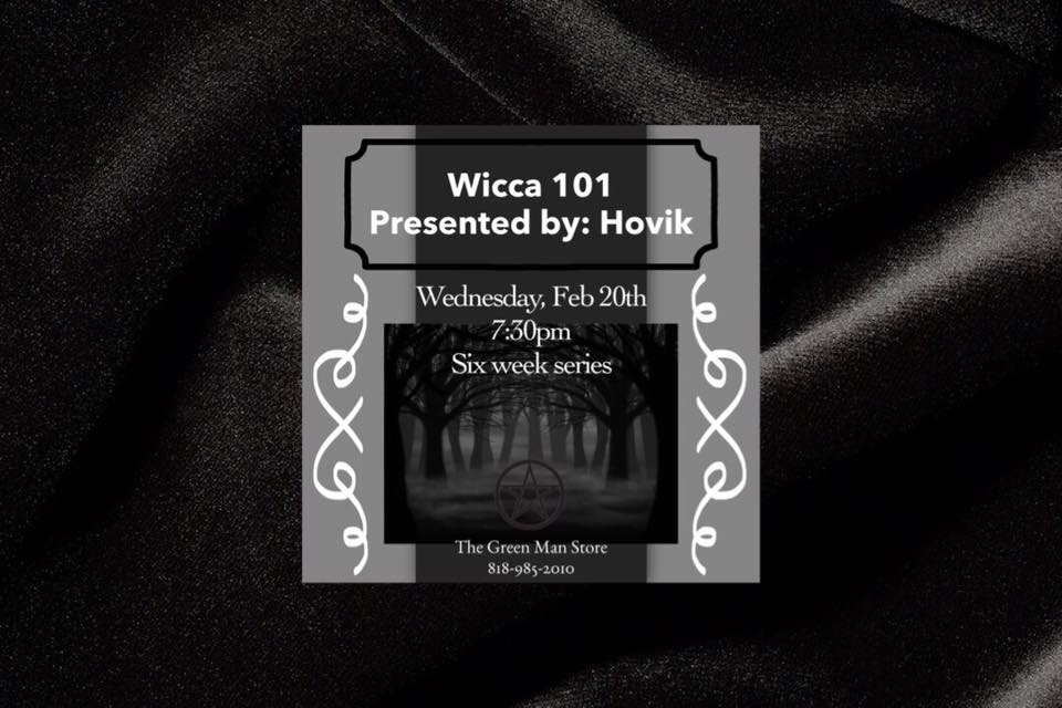 Wicca 101 Los Angeles with Hovik flyer