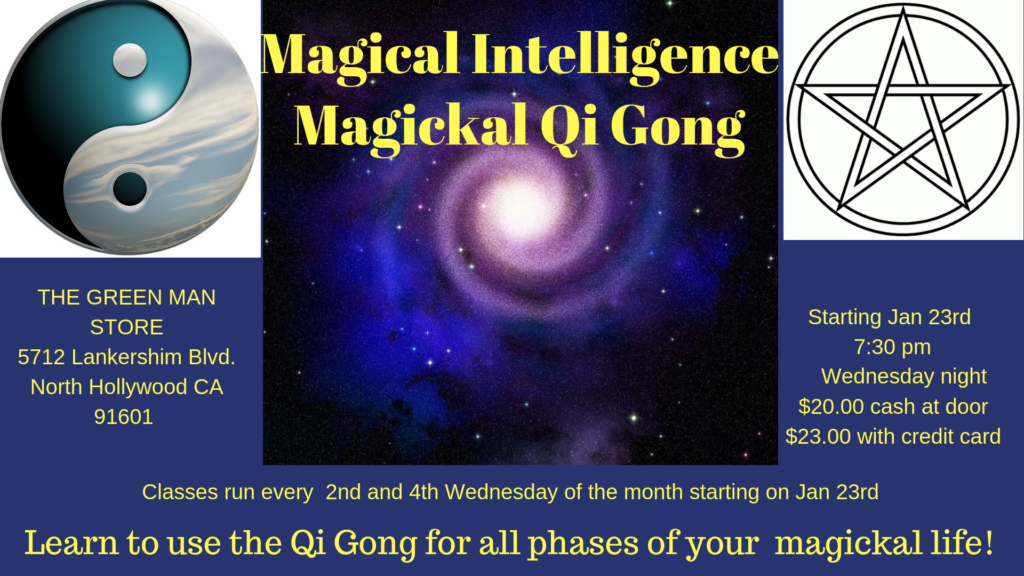 Magickal Qi Gong with Rene Collins flyer