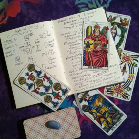 Keeping a Tarot Journal by Pleasant Gehman