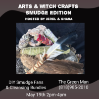 arts & witch crafts flyer