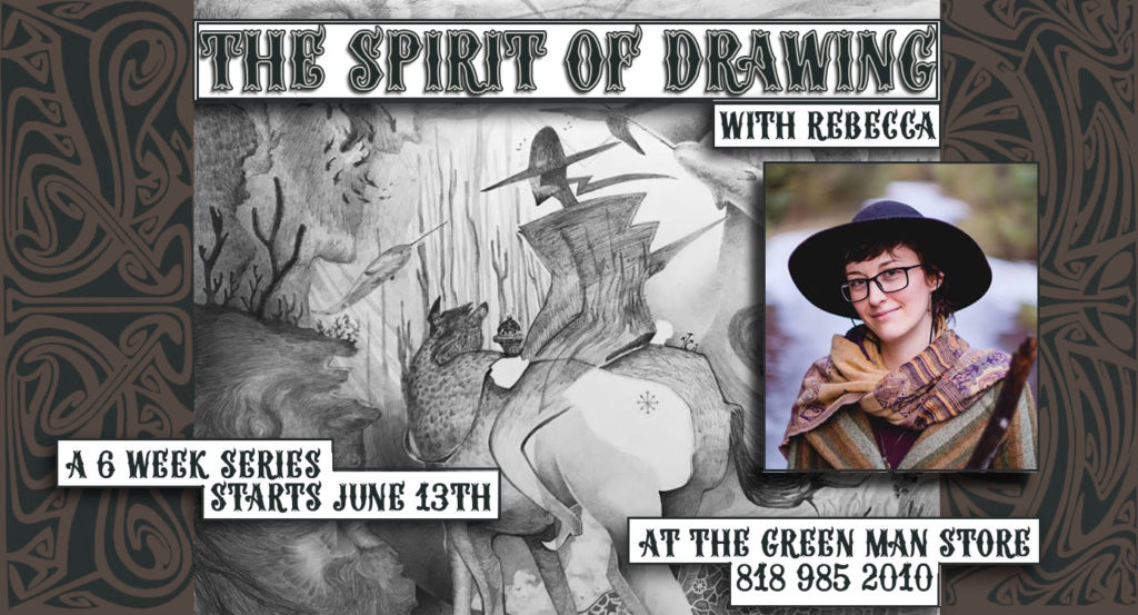 spirit of drawing flyer