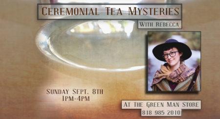 Ceremonial Tea Mysteries flyer