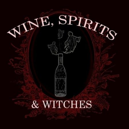 Wine, Spirits & Witches podcast logo