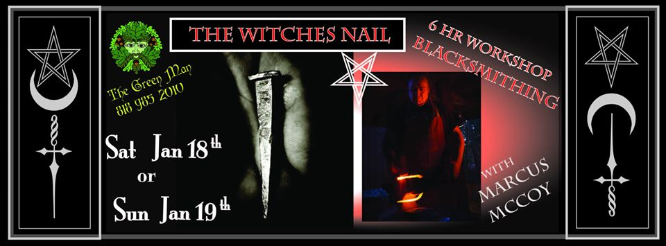 Forging the Witches Nail flyer