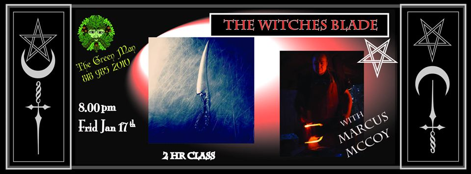The Witches Blade: Understanding Atheme with Marcus McCoy of Troll Cunning Forge flyer