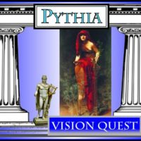 Pythia, Oracle of Delphi Vision Quest flyer
